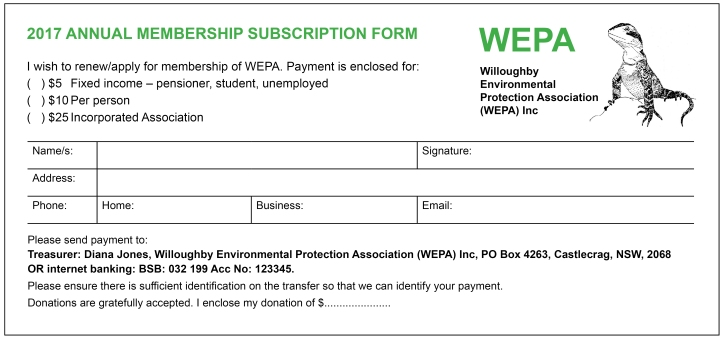 WEPA Membership Form 2017 with outline